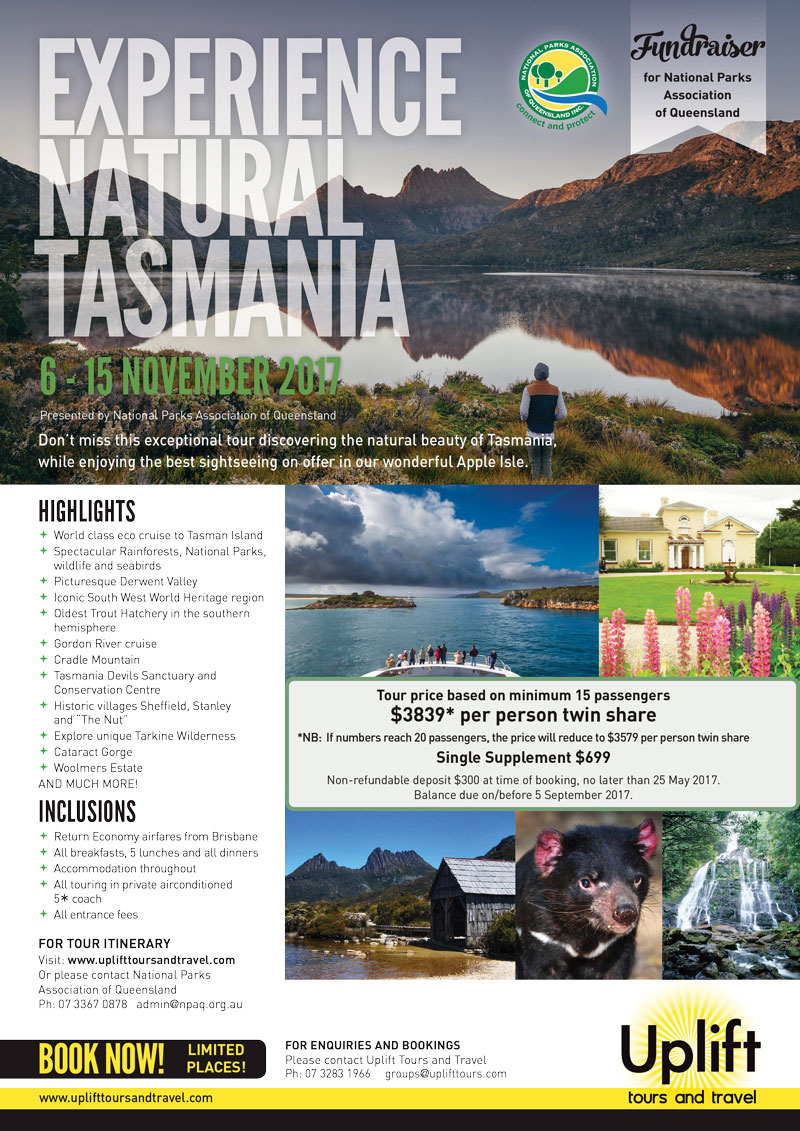 Travel To Tasmania - Group Travel National Parks Association of Qld