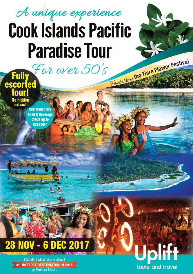 Cook Islands Pacific Paradise Tour - Uplift Tours and Travel