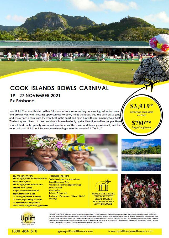 Cook Islands Bowls Carnival Tour