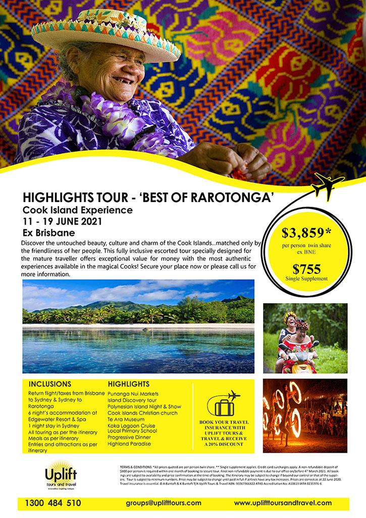 Best of Raratonga Cook Islands Tour