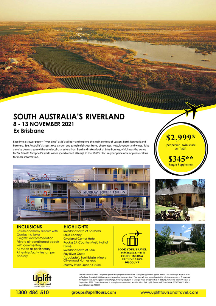 South Australia's Riverland