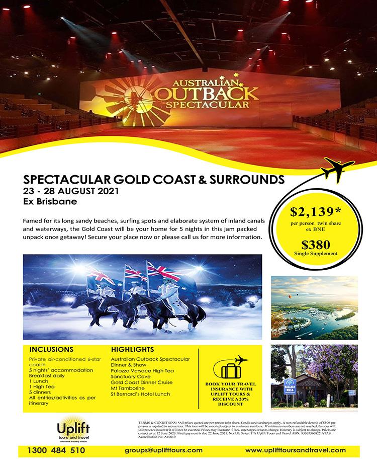 Spectacular Gold Coast tours