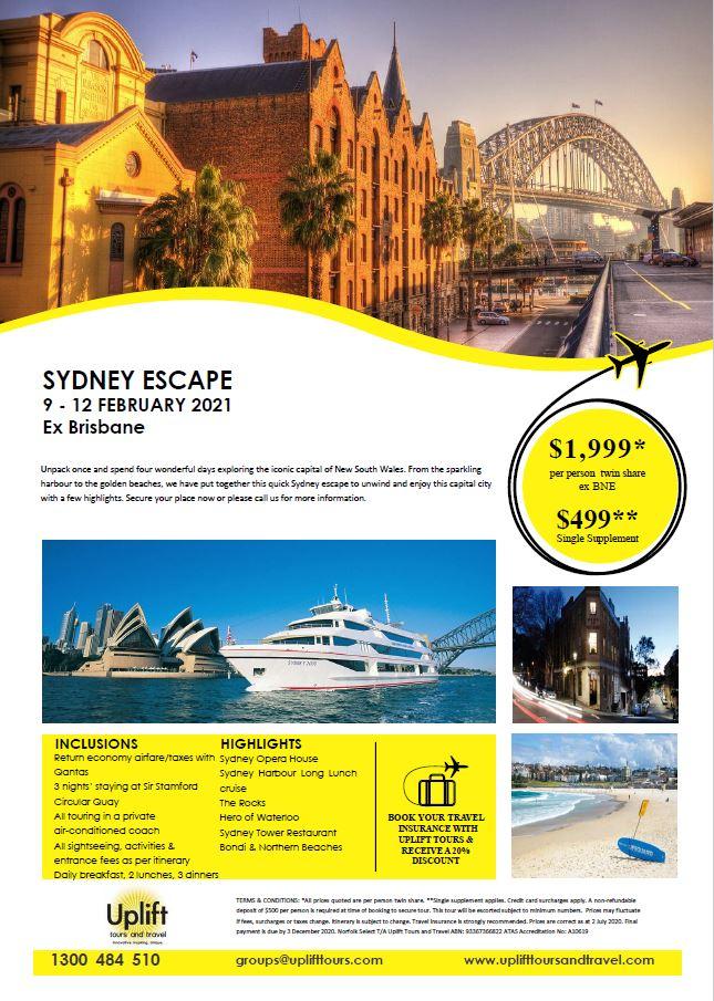 Sydney Escape